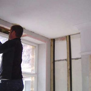 Lintel insulation