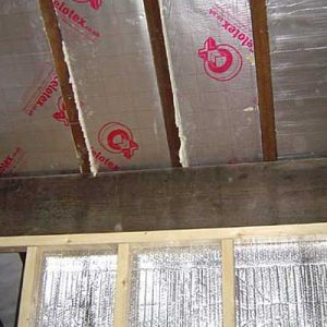 Retrofit property harrogate - roof insulation