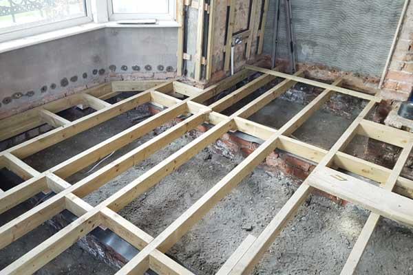 Victorian House Retrofit York Floor Joists Retrofit