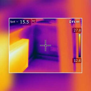 Thermal Imaging Survey-Conservatory Leeds Bungalow