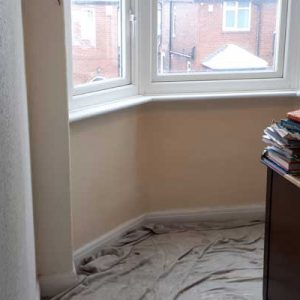 Rental House Harrogate - Thermal Lining - Anti-Condensation Paint