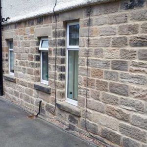 Extensive stone restoration and lime repointing - Harrogate