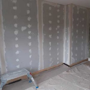 EWI Fitting insulation to inside walls fully boarded