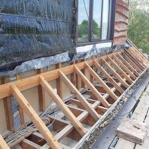 Retrofit project bungalow Ilkley main dormers